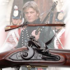 Sharpe Series, have read and watched all of these books. Flintlock Rifle, Flint And Steel, Black Powder Guns, Long Rifle, Fantasy Weapons, Military Weapons, Napoleonic Wars, Loose Powder, Mountain Man