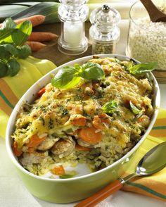 Unser beliebtes Rezept für Reisauflauf mit Bratwurst und mehr als 55.000 weitere kostenlose Rezepte auf LECKER.de.
