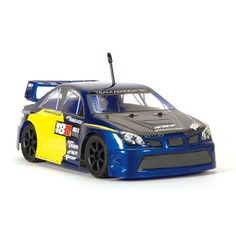 """Team Associated 20115 18R Kamino Rally RTR Electric RC Race Car by Team Associated. $154.99. From the Manufacturer                Just like its cousins the 18T, 18B and 18MT, everything is included—the car, transmitter, motor, battery, and charger are all in the box at no extra cost. All you'll need to do is charge the included race pack, add eight double A batteries and you are racing. The RC18R features spoked wheels, an inline-mounted """"Super 370"""" high-performance m..."""