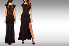 instead of (from Bluebell Retail) for a lace back long evening fashion dress in red or black - save Evening Dresses, Formal Dresses, Daniel Radcliffe, Lace Back, Body Shapes, Fashion Dresses, Stylish, Amazing, Sexy