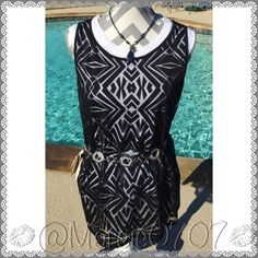 Black Worthington top/blouse Black top/blouse is so pretty. I hope the pictures do justice. The black blouse is meant to be worn over a shirt like a tank top. It's a size Medium and in new condition. Does not include the purple tank underneath!! Worthington Tops Blouses