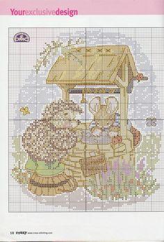 natty's cross stitch corner: Wishing Well