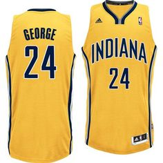 333a01c7057 Indiana Pacers #24 Paul George Revolution 30 Swingman Alternate Jersey Nba  Paul George, Paul