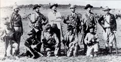 American volunteers who joined the Boers against the British Empire. Arthur Alfred Lynch, commander of the Irish Brigade, stands in the centre of the back row, wearing a white jacket. War Novels, Innocent Child, Weapon Of Mass Destruction, Fight For Freedom, Folk Music, My Heritage, African History, Warfare, South Africa