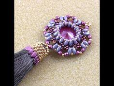 beautiful beads and style-серьги из бисера-смотри описание автора - YouTube