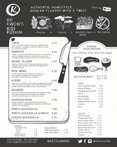 Koi Fushion - Korean BBQ Mexiacn Fushion Tacos, Sliders, Rice Bowls, Kimchi Quesadillas. Food Truck on Mississipi