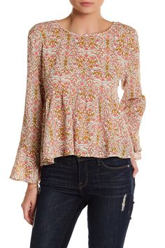 5557c267b3e0be Purchased. Babydoll Swing Blouse by Wild Pearl on  nordstrom rack Blouse  Designs