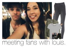 """meeting fans with louis."" by sydneykhall ❤ liked on Polyvore featuring UNIF, H&M, Monki and Vera Wang"