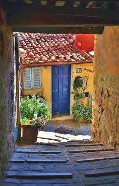 Medieval Campiglia Marittima, Livorno, Tuscany_ Italy