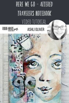 Looking for a pretty and functional idea for a journal or travelers notebook?  Design Team member, Ashli Oliver delivers in this inspirational video tutorial.  Ashli has a unique way of blending watercolor with acrylic paint, specifically with white.  She works her magic mixing Art Pops™ and Paperbag Studios rubber stamps to create and embellish a lovely journal with one of her signature faces. Pop on over today and you'll be grabbing your supplies and making your own travelers notebook…