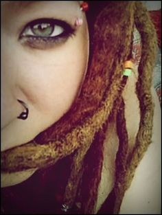 nose ring by ~fieldeee (dreads,dreadlocks)