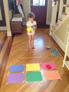 Educación Preescolar: Actividades motrices gruesas