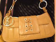 Click to shop - YVES ST LAURENT AGNEAU SHOULDER BAG