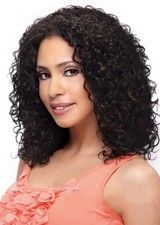 Shaggy 14Inch Lace Front Synthetic Afro Wig