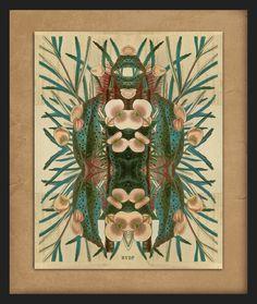 Botanical Art on paper by Hanneke van de Pol