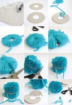 How to make a Pom Pom by Pysselbolaget