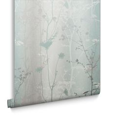Choose from our wide selection of wallpaper to find the right colour and design style for your home. Choose from a wide range of wallpaper designs and a huge colour palette. Grey Colour Wallpaper, Mint Wallpaper, Wallpaper Decor, Colorful Wallpaper, Flower Wallpaper, Wallpaper Roll, Meadow Flowers, Wild Flowers, Nature Color Palette