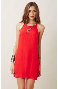 Myne RACERBACK SLIP DRESS on shopstyle.com