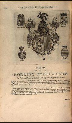 321. 1611; Rodrigo Ponce de Leon, 3rd Duke of Arcos (1545-1630).