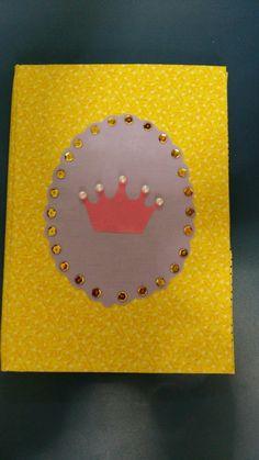 Cartonagem - capa de caderneta de vacina