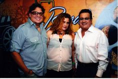 Con Ismael Miranda y Viti Ruiz .. en Rumba 507