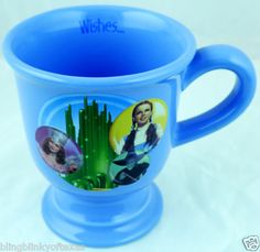 Wizard of Oz Dorothy Tinman Cowardly Lion Scarecrow Coffee Mug --- Magical!  BlingBlinky.com