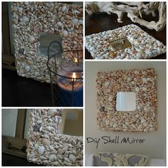 Seashell mirrors  Beachwood Place: July 2013