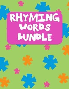 RHYMING WORDS BUNDLEThis contains 3 matching worksheets for rhyming words.  They…