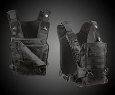 Mission Critical Baby Carrier for Dads | DudeIWantThat.com