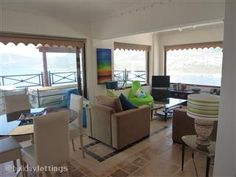 Living Area that has a 270' panoramic view from Kalkan to around the bay.