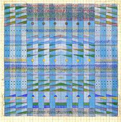 Gunta Stölzl Bauhaus Master Design for a Jacquard woven wall hanging