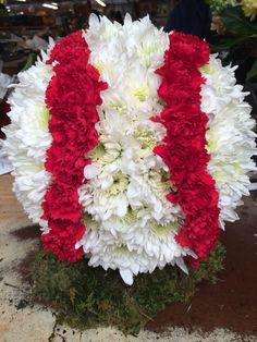 Sympathy Football Tribute Funeral Flowers Funeral