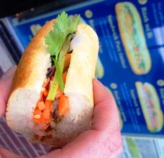 Vietnamese Banh Mi - France meets Vietnam in a tasty treat ... Seriously SO GOOD