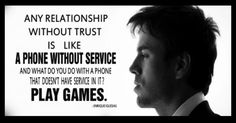 Enrique Iglesias - Trust in a relationship...