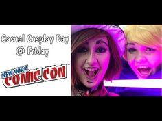 Casual Cosplay Day At NYCC 2016 Friday Vlog - Video --> http://www.comics2film.com/casual-cosplay-day-at-nycc-2016-friday-vlog/  #Cosplay