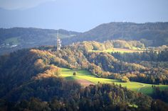 Felsenegg - Uetlibergturm as seen from Üetliberg IMG 1620 - Felsenegg - Wikipedia, the free encyclopedia Seen, River, Pretty, House, Outdoor, Image, Switzerland, Round Round, Nature