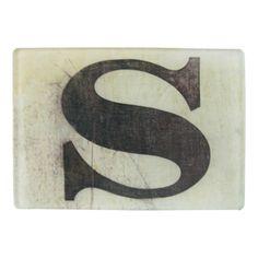 John Derian Company Inc — Black Letters S