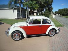 1966 Volkswagen Beetle - Classic RED 1966 VOLKSWAGEN BEETLE - GORGEOUS - YOU WILL NOT FIND A NICER ONE -STUNNING