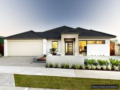 Single Story Home Exterior the viennaultimate homes | display homes- single storey- perth