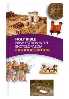 This New Revised Standard Version of the Bible is an encyclopaedic Catholic edition. It draws upon the best of biblical scholarship in an accessible way to describe both the background of the biblical text and the ways in which the bible has been read through time. Includes maps and bible charts.