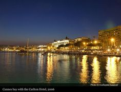 Cannes bay with the Carlton 2006