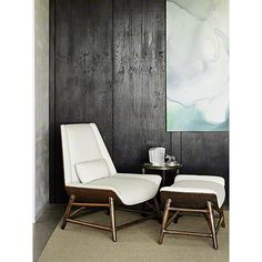 McGuire Furniture: Tansen Lounge Chair: No. A-114