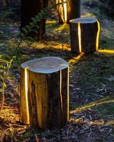 Follow @d.signers_in for Lighting, Furniture & Products.  The Cracked Log #Lamp designed by Duncan Meerding.  www.Dsigners.net
