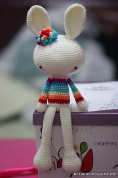 Весенний кролик Описание - Игрушки крючком