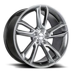 Ace Scorpio - Hyper Black w/ Machine Face Wheel Warehouse, Chevrolet Corvette C4, Truck Tyres, Scorpio, Wheels, Face, Scorpion, The Face, Faces