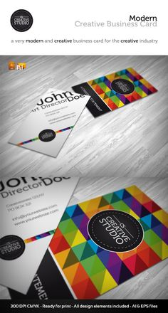 122 best business cards designs images on pinterest business card rw creative studio business card graphicriver item for sale reheart Choice Image