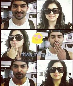 """11 Suka, 1 Komentar - Feby Possumah (@possumahfeby) di Instagram: """"Miss you my favorit actor n actris 😍😍😍 Thank you very much, so came in indonesian 😊🙏 @dhamidrashti…"""" Love Couple, Best Couple, Gurmeet Choudhary, I Love You, My Love, Romantic Couples, Beautiful, Te Amo, Je T'aime"""