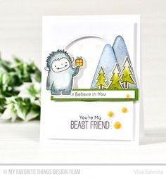 My Favorite Things BB BEAST FRIENDS Clear Cling Stamps & Die-namics Dies Set MFT   eBay