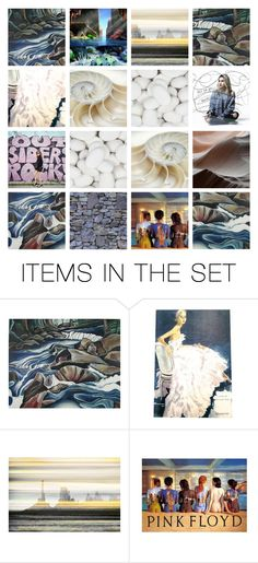 """""""Word Association: Shell Rock Below"""" by annacullart ❤ liked on Polyvore featuring art, contestentry, artflashmob, lindavoth and lyndabestartist"""