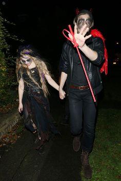 chloe moretz halloween | Chloe Moretz: Halloween Zombie Lady in London-Celebrity News, Videos ...